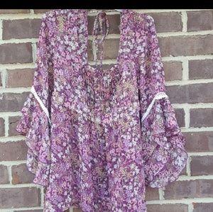 Decree boho style blouse